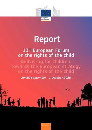 """Relatório do """"13º Forum Europeu sobre os Direitos da Criança"""""""